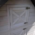 Hühnerstall Kathedral hat ein sehr praktischer Dachboden