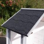 Voliere Sara Medium mit Dachpappe Dach
