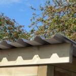 Hundeauslauf mit grossem Dach
