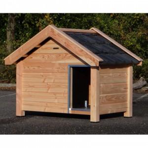 Hundehütte Reno aus Douglasienholz 160x106x123cm