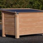 Hundehütte Ferro ✓ Isoliert ✓ Douglas Holz