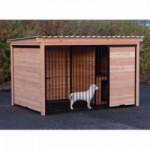 Hundehütte aus Douglas Holz