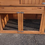 Hühnerstall Holiday Large mit zusätzlichem Anbau-Auslauf