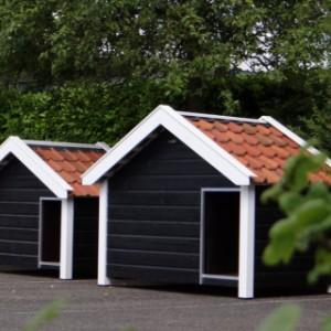 Luxus Hundehütten mit schönen Dachziegeln