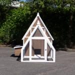 Hühnerhaus Pip - Grosser Stall für Hühner mit Auslauf und Legenest