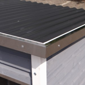 Hundehütte Dogsy Large - Aluminium Rändern