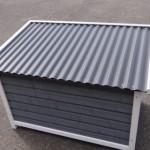 Hundehütte Dogsy Medium - Kunststoff Dach