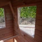 Gitter vor dem Fenster einfach zu entfernen