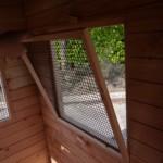 Gitter vor dem Fenster sehr einfach zu entfernen