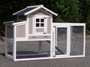 Hühnerhaus Joas mit Auslauf und Legenest