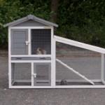 Kaninchenstall Cato - Preiswerter Kaninchenstall mit einem Auslauf