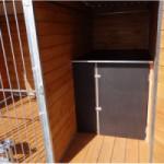 OPTIONAL: Schlafhaus Verkleinung mit Stauraum