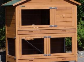 Plexiglas Isolierset für Kaninchenstall Excellent Medium