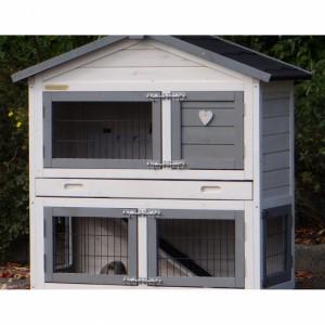 Plexiglas Isolierset für Kaninchenstall Regular Small