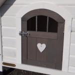 Hundehütte Private 1 | detaillierte Foto der Tür