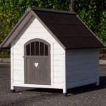 Hundehaus Private 4 mit abschliessbarer Tür