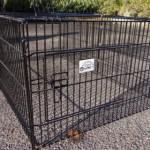 Schöne Kaninchenauslauf Maik | Gitterkäfig | Türe
