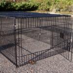 Kaninchenauslauf Maik | Gitterauslauf
