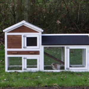 Kaninchenkäfig Artièn aus Holz