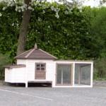 hühnerstall ambiance small und auslauf mit dachpappe