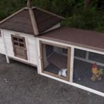kaninchenstall ambiance small und auslauf mit dachpappe