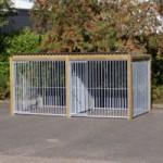 Hundezwinger Flinq doppel 2x4 m.