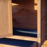 kaninchenstall mit ein extra großes Schlafabteil