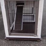 Bodenplatte für kaninchenstall prestige small Doppel