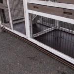 Bodenplatte für kaninchenstall prestige small Doppel 226x62cm