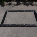 Fundament für Anbau-auslauf Kathedraal schwarz