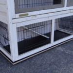 Bodenplatte für Kaninchenstall Holiday Medium mit zusätzlichem Auslauf