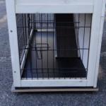 Bodenplatte für kaninchenstall 93x43cm