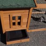 Kaninchenstall Caviahok Pretty Home mit Nageschutz und Kotwanne