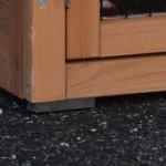 Kunststoff-Füße kaninchenstall