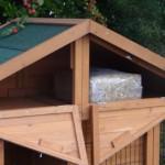 kaninchenstall mit stauraum im dach
