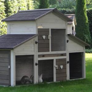 Kaninchenstall Annemieke