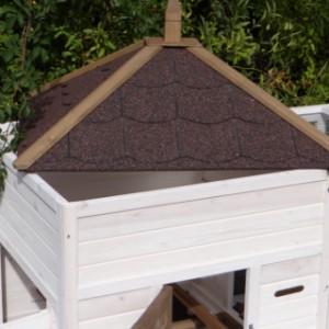 abnehmbaren Dach kaninchenstall