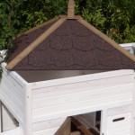 hühnerstall mit dach