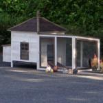 kaninchenstall ambiance large und auslauf mit dachpappe
