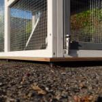 Bodenplatte für Anbau-Auslauf Kaninchenstall