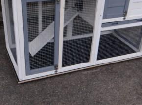 Bodenplatte für kaninchenstall Advance Doppel