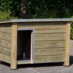 Hundehütte Ferro Isoliert 129x85x85 cm
