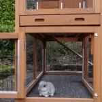 unteren Auslauf kaninchenstall