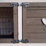 Türverschluss kaninchenstall