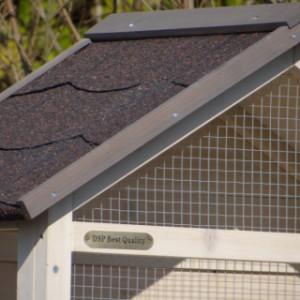 Vogelkäfig Sara dach mit dachpappe