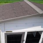 dach kaninchenstall mit dachpappe