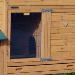 Große Kaninchenstall mit Auslaufmodulen