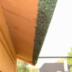 Große kaninchenstall mit Dachpappe Dach