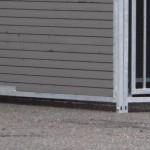 Kunststoff Hundezwinger doppel