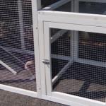 Hühnerstall Julia mit anbau-auslauf